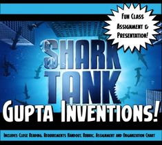 Shark Tank Ancient India Gupta Empire Inventions Class Presentation Activity Study History, History Class, Geography Activities, Interactive Activities, Classroom Activities, Class Presentation, Ancient World History, Middle School History, Teaching Social Studies
