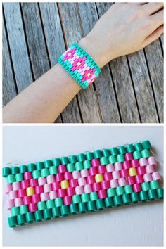 DIY Perler Bead Bracelet Tutorial