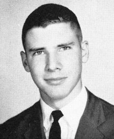 Harrison Ford's yearbook photo