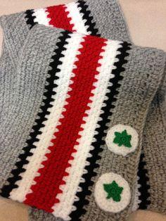Ohio State Buckeyes Crochet Chart And Buckeyes On Pinterest