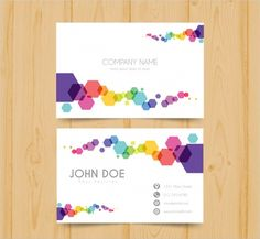 The features of the Geometric Business Card design templates project stylish business card feature as these Geometric Business Card designs are used by. Free Business Cards, Business Card Design, Branding Design, Logo Design, Visiting Card Design, Name Card Design, Bussiness Card, Certificate Design, Name Cards