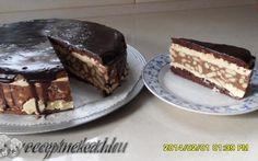 Gesztenyés szelet Hungarian Recipes, Hungarian Food, Hungarian Cuisine