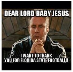 Thank you for Florida State football