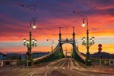 Sunrise at the bridge by Miroslav Petrasko on 500px