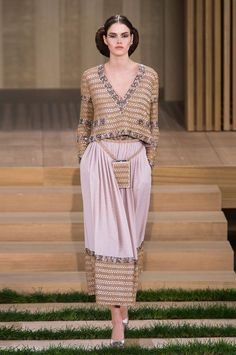View all the catwalk photos of the Chanel haute couture spring 2016 showing at Paris fashion week. Read the article to see the full gallery.