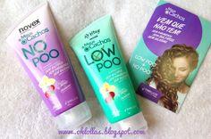 Resenha Novex Low Poo e No Poo da Embelleze - Oh, Lollas