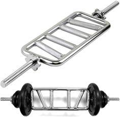 Mirafit Super EZ Curl Bar Olympic Weight Barbell Arm Strength Lifting//Training