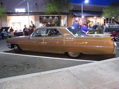 My mom's baby 64 Cadillac.