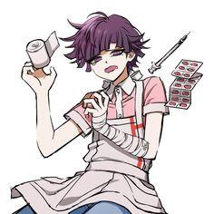 Danganronpa Funny, Danganronpa Characters, Anime Characters, Pokemon Luna, Mikan Tsumiki, Ouma Kokichi, Fanarts Anime, Nagito Komaeda, Aesthetic Anime