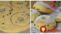 Šišky ako dych – v rúre sa krásne nafúknu: Žiadne vyprážanie a do cesta dajte tvaroh – lepšie pečivo sme ešte nejedli! Fun Easy Recipes, Old Recipes, Sweet Recipes, Easy Meals, Perfect Cheesecake Recipe, Cheesecake Recipes, Cookie Recipes, Sweet Bar, Sweet Pastries
