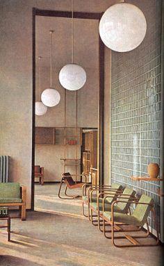 vdvintagedesign: (1942) © Giuseppe Pagano Pogatsching
