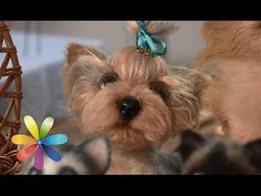 ЙОРИК -- СУХОЕ  ВАЛЯНИЕ  / ШКОЛА  ФЕЛТИНГА Татьяны Шелиповой  / How to Make Felt Dog/毡玩具 - YouTube