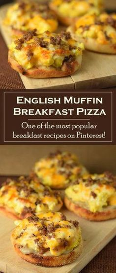 English Muffin Breakfast Pizza - A hearty breakfast platter including some combination of sausage, eggs, and cheese is the best comf - Breakfast Platter, Breakfast Dishes, Breakfast Time, Best Breakfast, Breakfast Recipes, Breakfast Ideas, Mexican Breakfast, Breakfast Sandwiches, Diabetic Breakfast