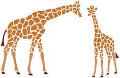 Rezultat iskanja slik za diy printable pattern stencil giraffe