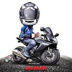 MiniBuddz (@minibuddz) • Instagram photos and videos Moto Bike, Motorcycle Art, Bike Drawing, Bike Pic, Motosport, Sportbikes, Motogp, Automobile, Character Design