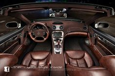 Vilner Mercedes SL Custom Interior | Gear X Head