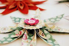 muy facil y sin troquel.tb se pueden hacer de fieltro -------Somia en Colors: DIY. Tutorial flores