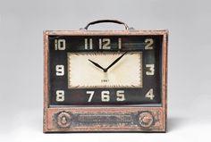 Stolní hodiny Radio Storage / vintage table clock
