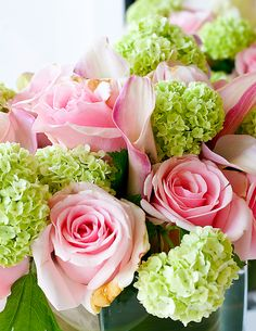 roses and carnations.