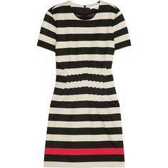Diane von Furstenberg Yazmine striped stretch-jersey dress