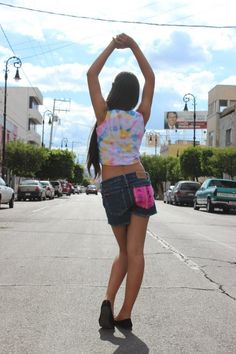 Crop top plangy  Talla chica  $160.00