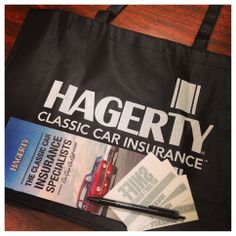 We Love Hagerty Classic Car Insurance Thank You For Providing Materials Our Goodie Bags
