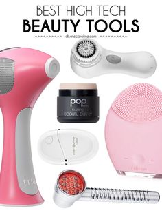 Beauty tools have come a long way in the past few years. Check out our favorites, from the Clarisonic to the hair removal laser. #hightechbeauty #skincare