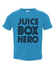 Need for EJ! I would be singing all day if he wore this. Psychobaby Juice Box Hero T-Shirt #psychobabyfave