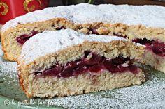 Torta rustica di ciliegie