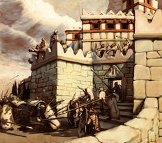 Mycenaean Siege by LordGood. Is this how Mycenae fell - attacked by a jealous Achaean neighbour, and not overthrown by Dorian invaders or a massive Sea Peoples raid?
