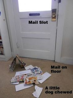 Making A Mail Catcher. Try This Easy Project If You Have A Door Mail Slot