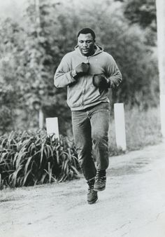 Life doesn't run away from nobody. Life runs at people - Joe Frazier