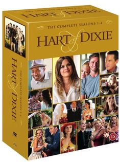 Hart of Dixie: Complete Box - Säsong 1-4 (17 disc) (DVD)