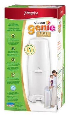 Visit Walmart.ca for Playtex® Diaper Genie II Elite™ Advanced Diaper Disposal System and our selection of Baby items at Walmart.ca