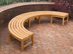 Curved Garden Bench Fire Pit Furniture Gas Fire Pit 640 x 480
