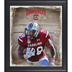 "Mike Davis South Carolina Gamecocks Fanatics Authentic Framed 15"" x 17"" Playmaker Collage - $49.99"
