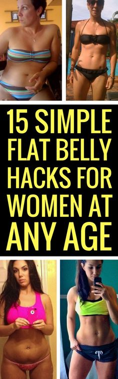 15 Awesome Diet Hacks To A Flat Tummy
