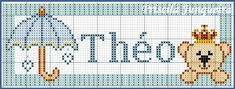 Priscila Junqueira Ponto Cruz Cross Stitch Alphabet Patterns, Cross Stitch Bookmarks, Cross Stitch Flowers, Filet Crochet, Little People, Kids And Parenting, Diy And Crafts, Kids Rugs, Quilts