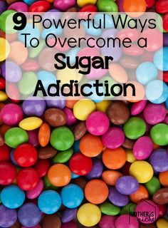 fantastic suggestions for overcoming a sugar addiction