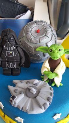 Star wars Birthday cake Star Wars Birthday Cake