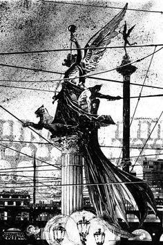 Batman. Bill Sienkiewicz