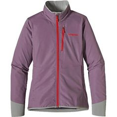 Patagonia Womens All Free Jacket. Tyrian Purple