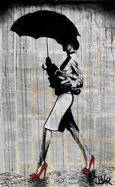Uniquespiration | Dripping Ink Artist Loui Jover and his Emotional Silhouettes