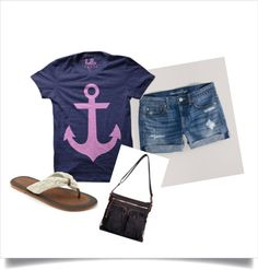 """""""Summer Day"""" by megquinn106 on Polyvore"""