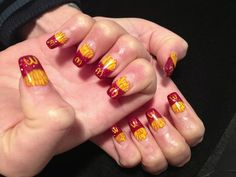 Love for the fry - McD nail art