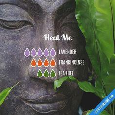 Heal Me - Essential Oil Diffuser Blend #essentialoil #Aromatherapy