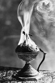 Magick Ritual Sacred Tools: An incense burner. Meditations Altar, Wiccan, Witchcraft, Amitabha Buddha, Spiritus, Mystique, Incense Burner, Burning Incense, Arabian Nights