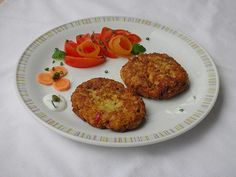 Gemüse - Haferflocken - Bratlinge