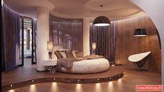 Футуристичный Дизайн спальни