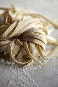 Fresh pasta by Katie Newburn~ #pasta, #foodphotography